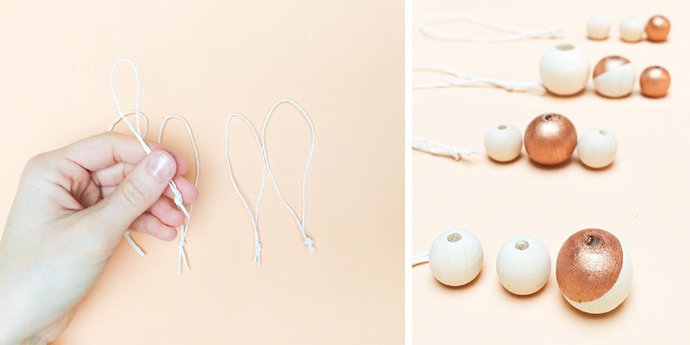 diy - perles de noel