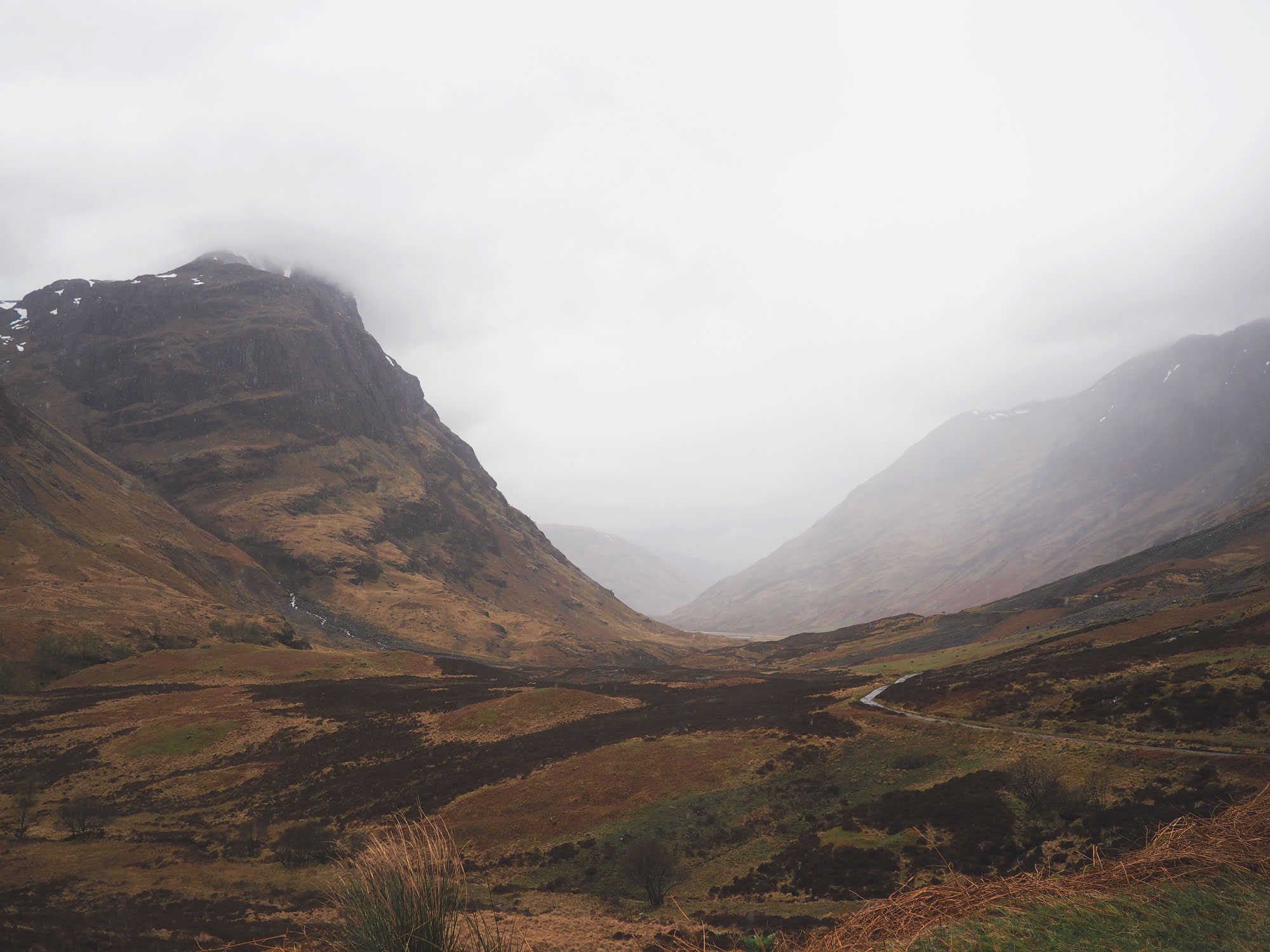 Tippy.fr - Road trip en Écosse #3 : Glen Coe Three Sisters