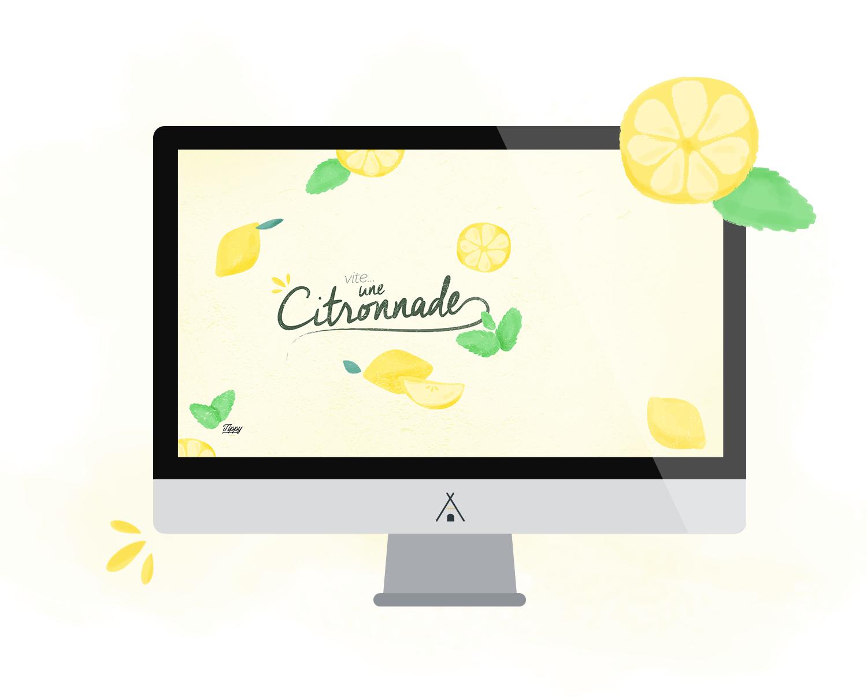 Tippy.fr - Petit fond d'écran citronné !