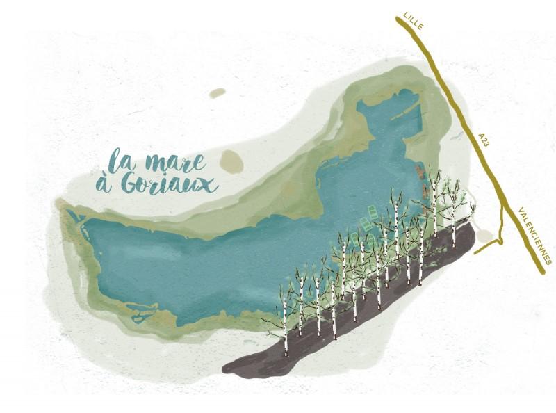 La mare à Goriaux - Tippy.fr