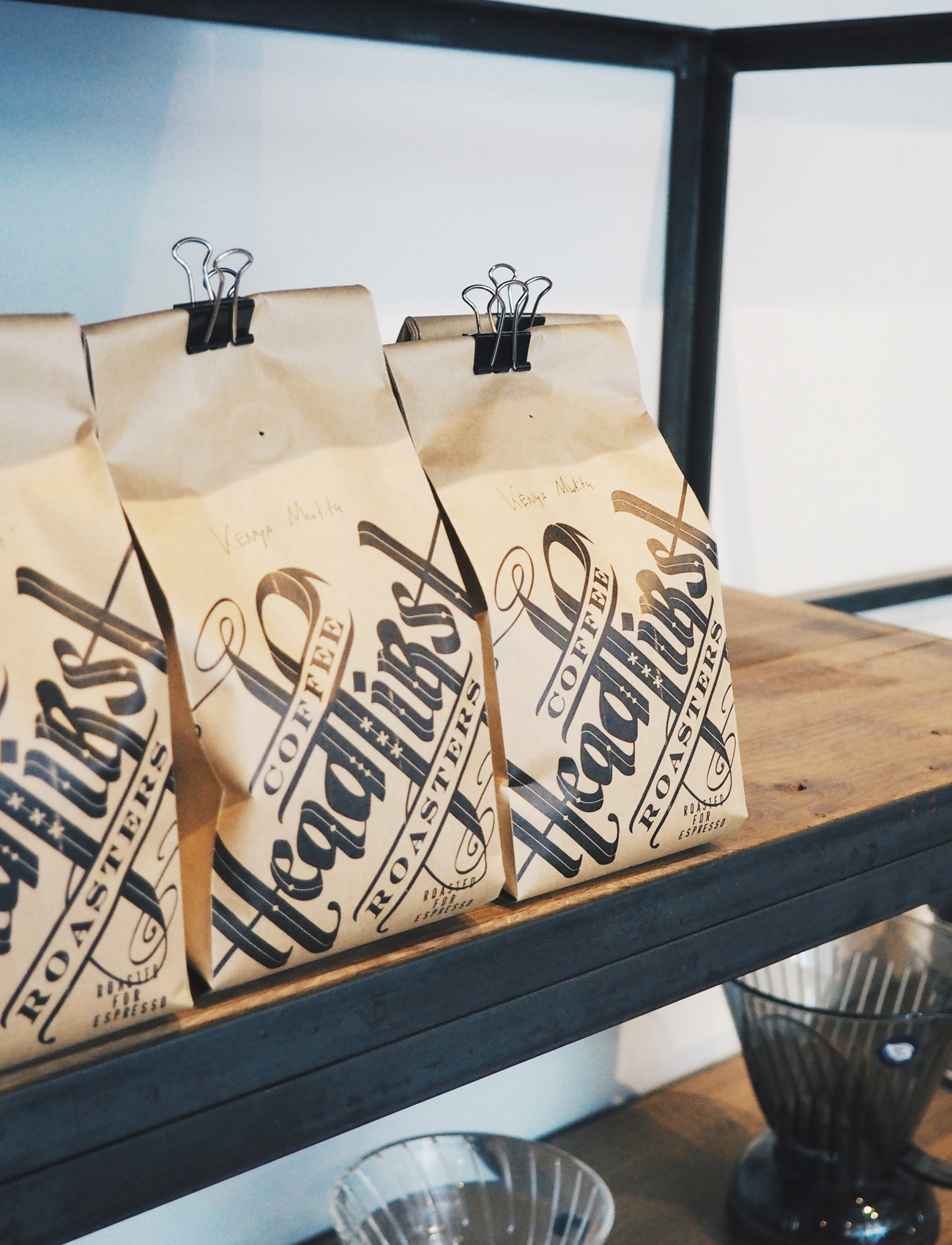 Headfirst coffee roasters - Amsterdam city guide