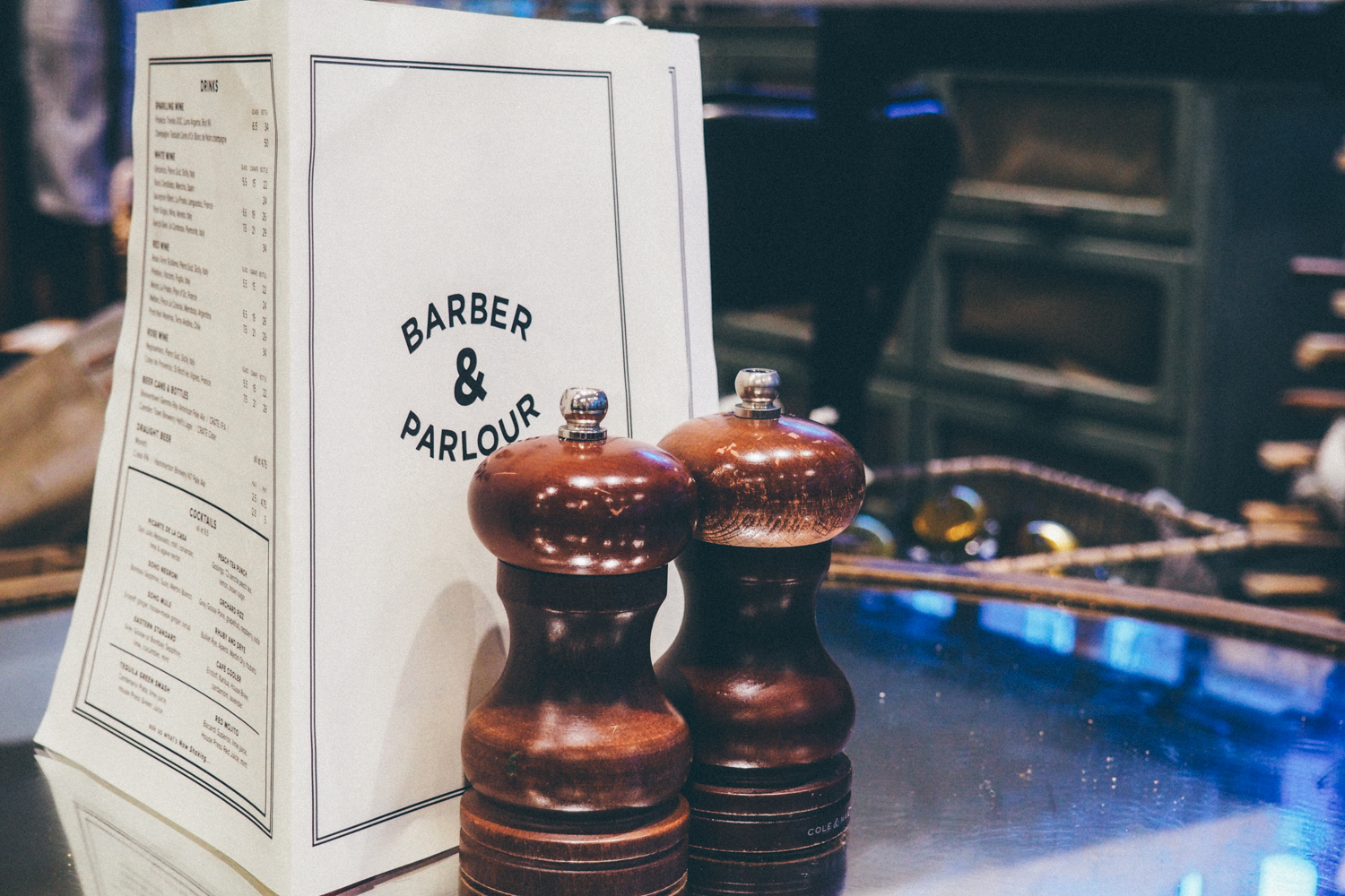 Barber and Parlour - Shoreditch, London / Tippy.fr