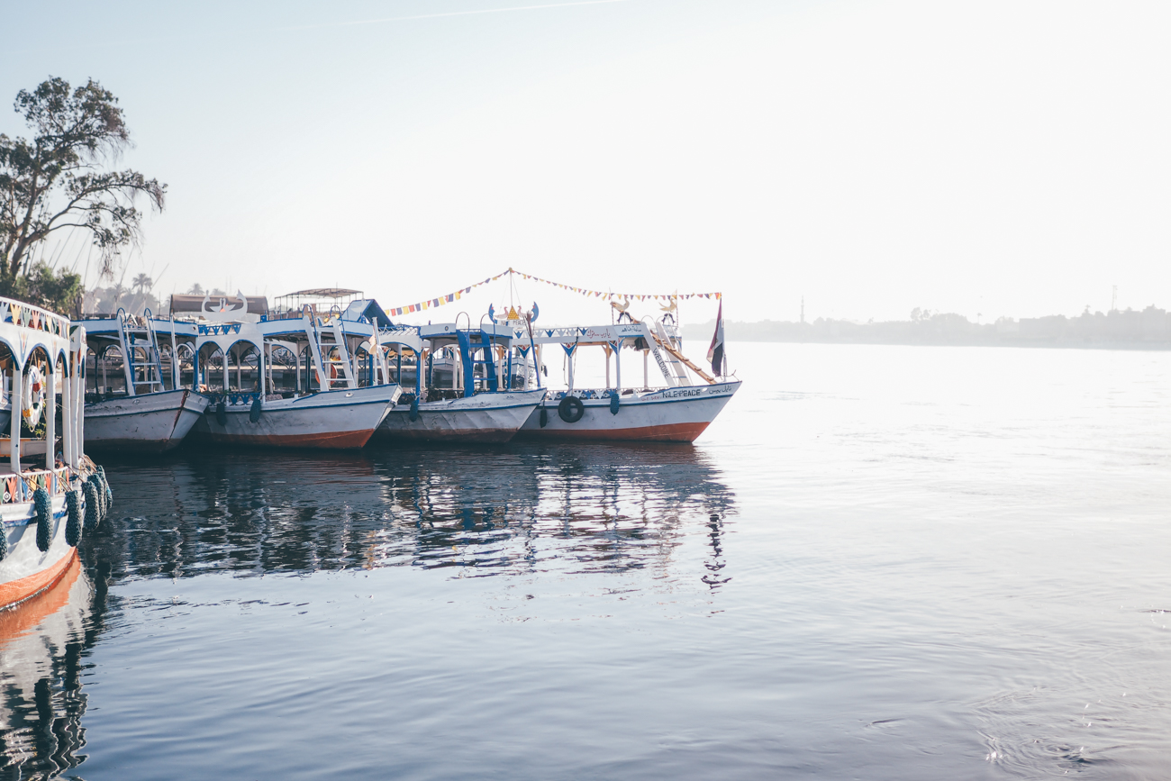 L'Égypte avec Voyageurs du Monde / Tippy.fr. Traversée du Nil pour rejoindre la rive Ouest, direction la Vallée des Rois !
