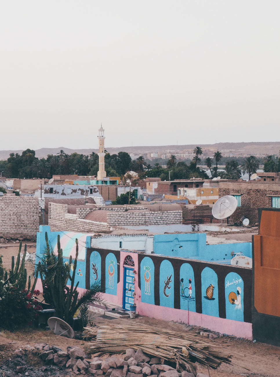 L'Égypte avec Voyageurs du Monde / Tippy.fr. Le village Nubien