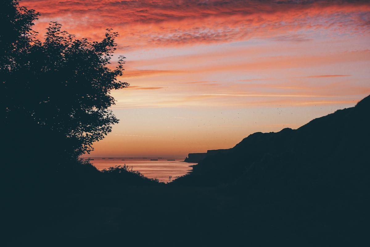 Un beau week-end, en Normandie - Longue sur Mer
