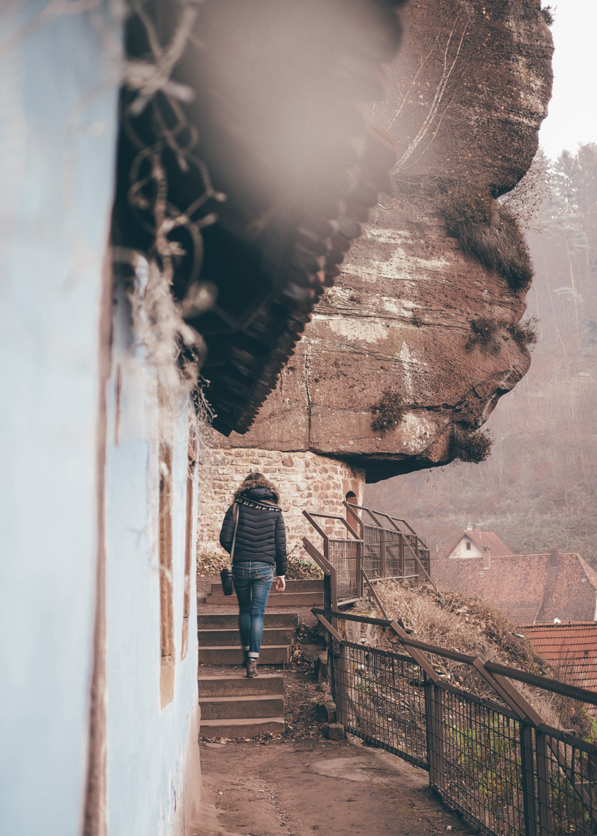 Alsace - Les maisons des rochers de Graufthal / Tippy.fr