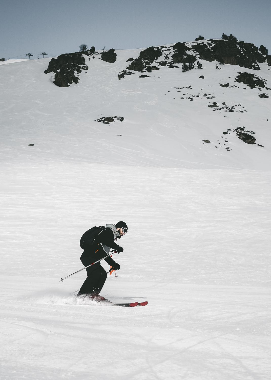 Pistes de ski de la station Ax 3 Domaines, Ariège - Pyrénées