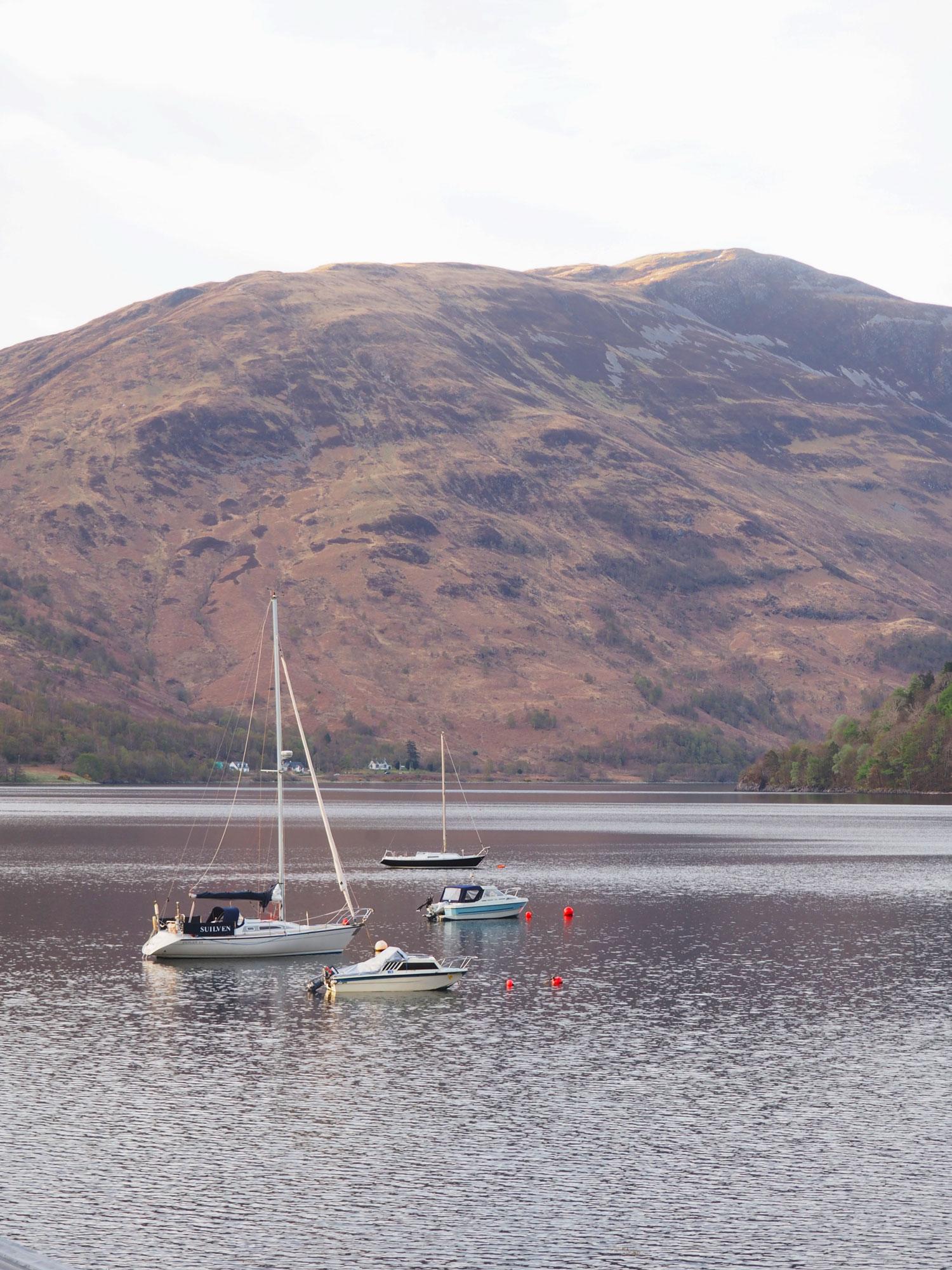 Tippy.fr - Road trip en Écosse #3 : Glen Coe - Loch Leven