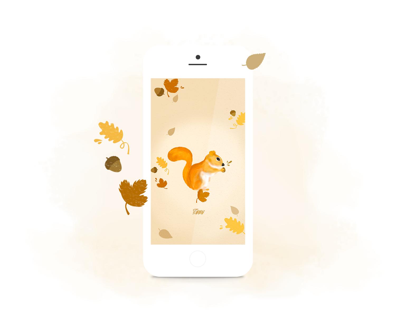Petit fond d'écran d'automne