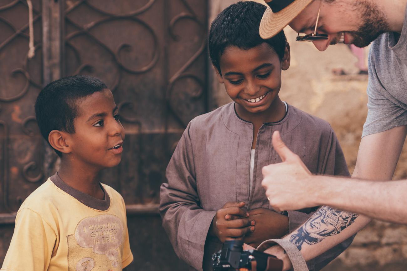 L'Égypte avec Voyageurs du Monde / Tippy.fr - Belle rencontre à Edfou