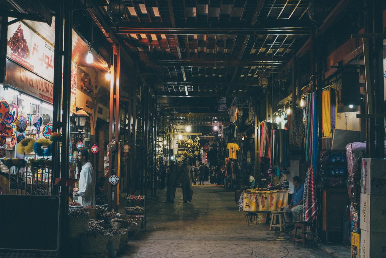 L'Égypte avec Voyageurs du Monde / Tippy.fr - Le souk de Louxor