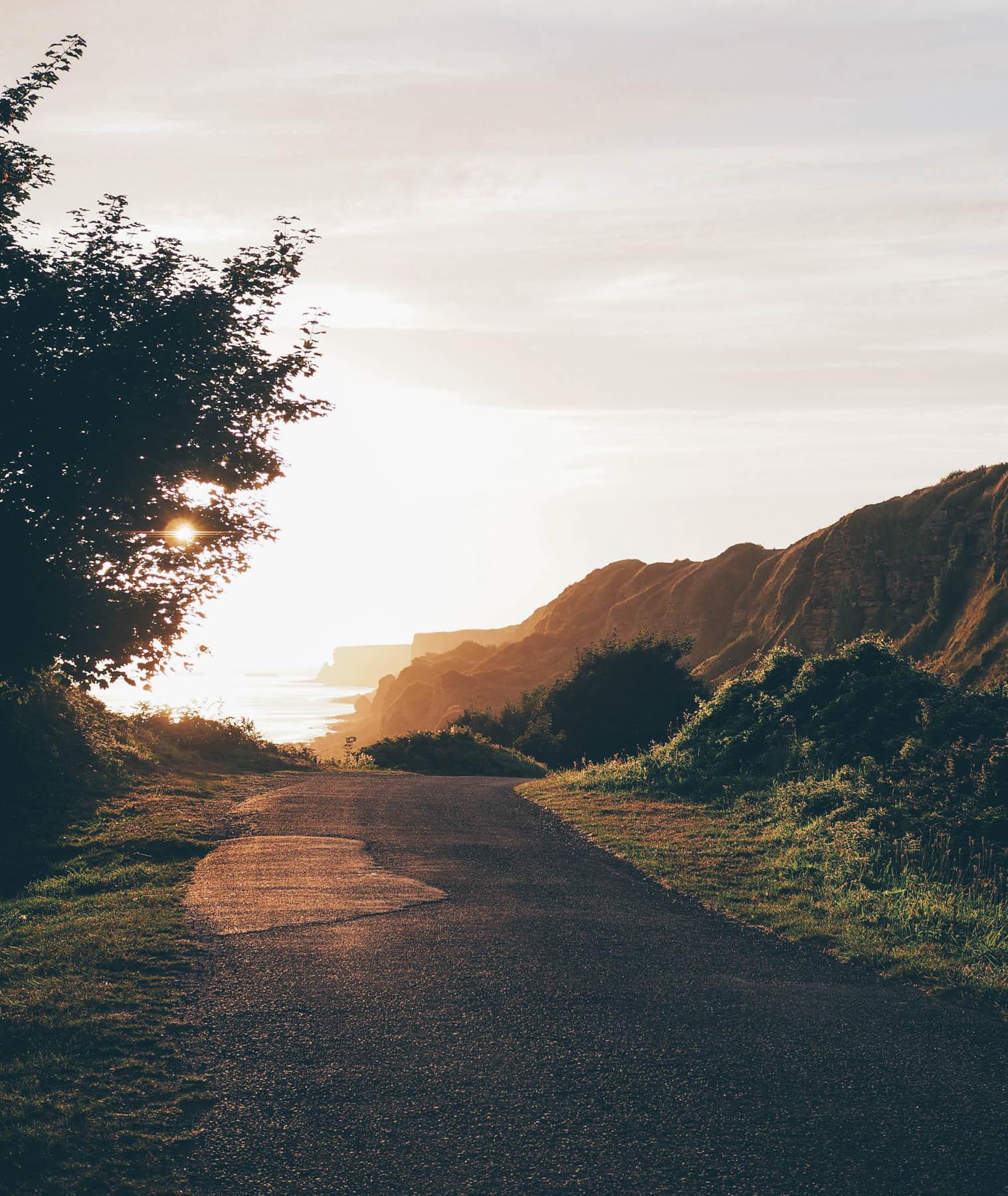 Un beau week-end, en Normandie - Longue sur Mer, vue sur le Cap Manvieux